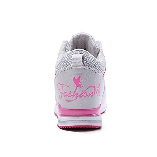 34 Montante Mode Plus 40 Endurance Taille Promenade de Montante LFEU Un l'intérieur à pour Antidérapant Casuel CM Recommandez Femme Basket Tendance 5 3 la Sneakers Chaussure Compensé qRftHXF