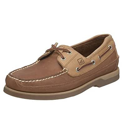 Sperry top sider hombres mako 2 eye boat zapatos oak 11 w for Amazon zapatos hombre