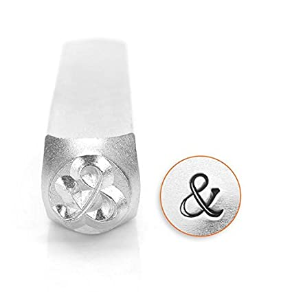 Amazon.com: impressart- 6 mm, Ampersand sellos de metal ...