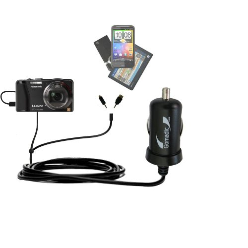 Uses TipExchange to charge up to two devices at once Gomadic Multi Port AC Home Wall Charger designed for the Garmin Approach G8