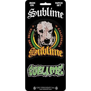 Sublime Loudog & Logo, Officially Licensed, Iron-On / Sew-On, Embroidered PATCH - 3.5'' X 7.875''   B077MKHWSW