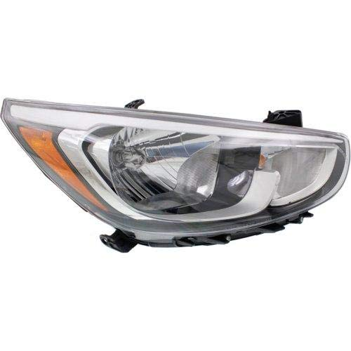 (Go-Parts OE Replacement for 2015-2016 Hyundai Accent Headlight Headlamp Assembly Front - Right (Passenger) 92102-1R710 HY2503192)