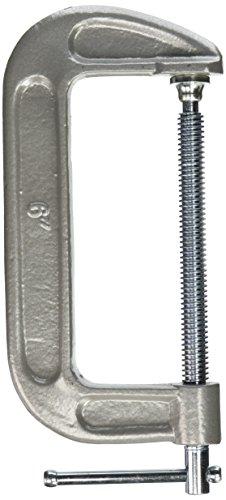 KC Professional 94460 Heavy Duty C-Clamp Zinc Plated, 6