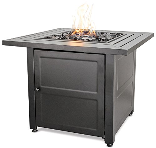 Endless Summer LP Gas Outdoor Fire Bowl with Steel Mantel (Large Image)