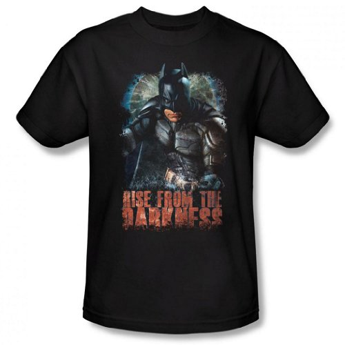 Dark Knight Rises - Rise from the Darkness Men's T-Shirt, Black, 2XL (Catwoman From The Dark Knight Rises)