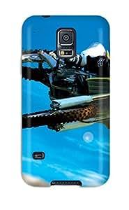 New Amazing Motocross Bike Stunt Tpu Case Cover, Anti-scratch JypfNmL2366jxrxO Phone Case For Galaxy S5