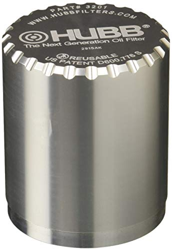 Image of HUBB Filter 3201 Engine Oil Filter (3 Inch Filter- Thread 13/16-16)