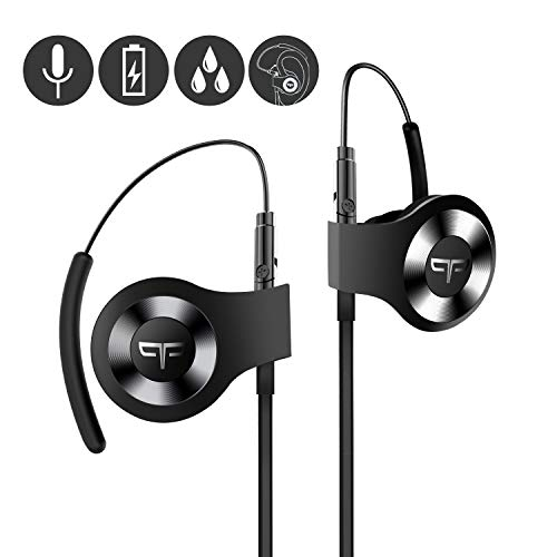 Origem HS-3 Bluetooth Headphones, Wireless Sports Earbuds with DSP Audio Algorithm, True Voice Recognition, Rotatable…
