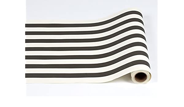 Camino de mesa de papel de rayas de Classic 25 pies americano ...