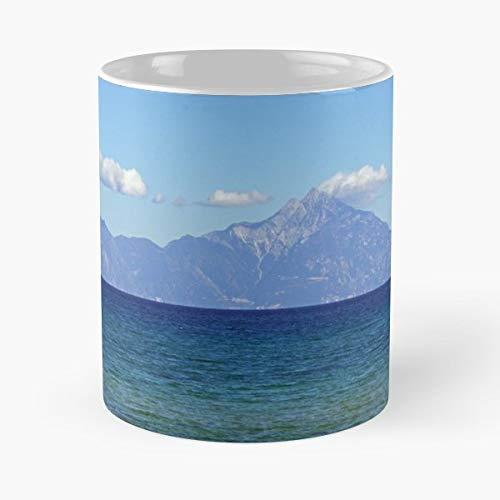 The Colors Of Sea Aegean Blue - Funny Mug Coffee Gift For Christmas Father