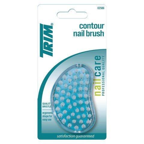 Trim Contour Nail Brush #02586- ONE PACK