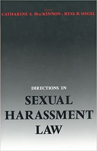 Book Directions in Sexual Harassment Law
