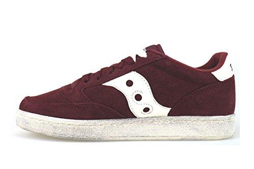 SAUCONY sneakers unisex gamuza Azul / gris / borgoña borgoña
