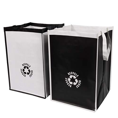 Lily Queen Recycle Waste Bin Bags for Kitchen Home Trash Sorting Bins Organizer Waterproof Baskets Compartment Container