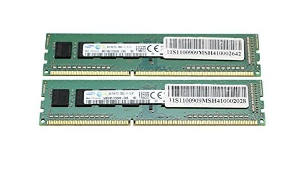 Samsung 8GB 2x4GB DDR3 PC3-12800 Desktop Memory RAM M378B5173QH0-CK0