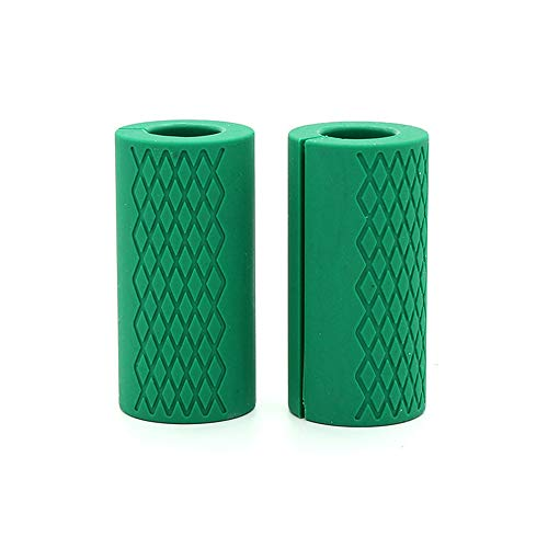 Amazon.com : Esoes Thick Bar Grips Silicone Arm Training Fat Bar Grips Barbell Dumbbells Handles for Weightlifting Training and Muscle Growth, ...