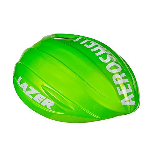 Lazer Aeroshell Blade Cycling Helmet Cover (Flash Green - (Green Blade Helmet)