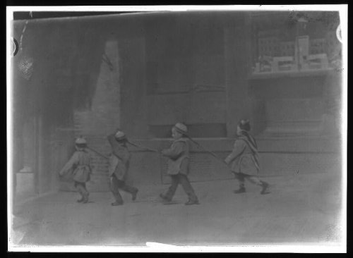 Photo: Pigtail parade,children,Chinatown,San Francisco,California,CA,A Genthe,1896 3 (Parade Halloween San Francisco)