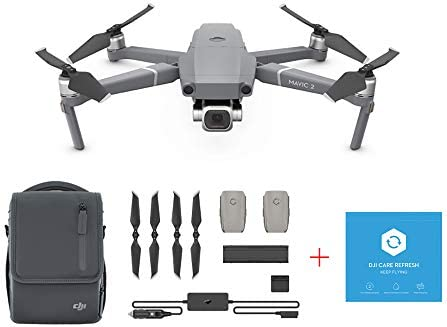 a1dc5516943 Amazon.com: DJI Mavic 2 Pro Drone Quadcopter with Fly More Kit and DJI Care  Refresh Combo Bundle: Camera & Photo