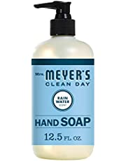 Mrs. Meyer's Clean Day Liquid Hand Soap, Cruelty Free and Biodegradable Formula, Rainwater Scent, 12.5 oz