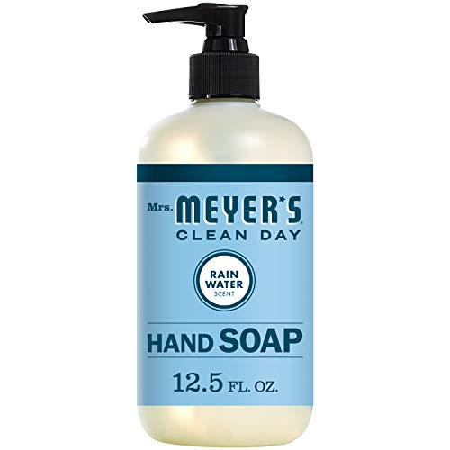 Mrs. Meyer's Clean Day Liquid Hand Soap, RainWater Scent, 12.5 Ounce Bottle