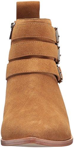 Loeffler Randall Women's Nash (Split Suede) Ankle Boot Camel/Silver 1HKHm