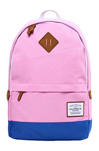 Miller Division Classic Pink Mochila Tipo Casual, 20 litros, Color Rosa