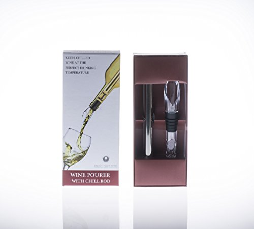 Wine Decanter Red Wine Carafe,Wine aerator,Wine Accessories-Wine Chiller Stick by NEW PACIFIC YOUYAH (Image #6)