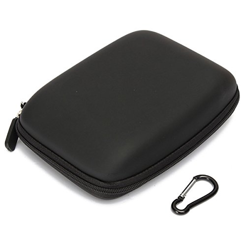 Hard Shell Carry Bag Zipper Pouch for 6Inch Sat Nav GPS (1490t Portable Gps)