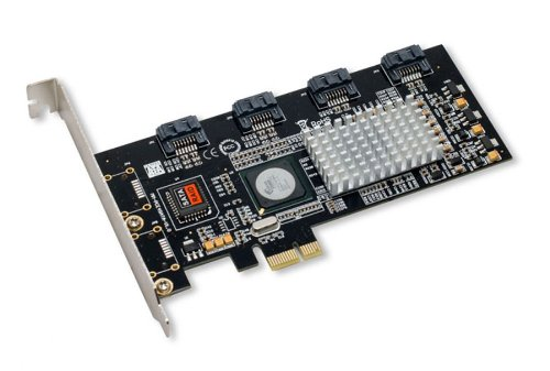 Syba  PCI Express SATA II 4 x Ports RAID Controller Card SY-