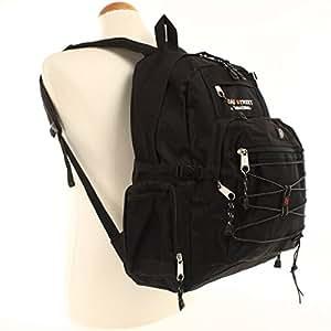 BAG STREET - Mochila, nailon, color negro