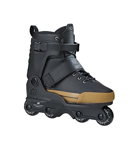 Line Mens In Skate Aggressive (K2 Skate Front Street, Black Gold, 9)