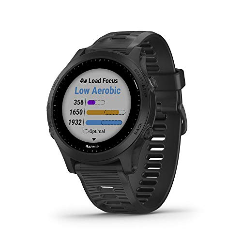 Garmin Forerunner 945, Premium GPS Running/Triathlon Smartwatch with Music, Black ()