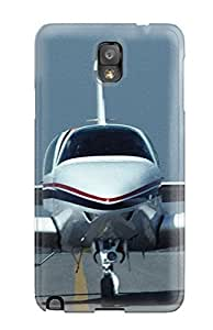 Durable Defender Case For Galaxy Note 3 Tpu Cover(aircraft3)