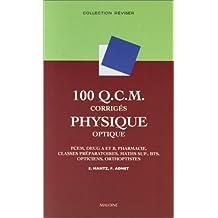 100 qcm corriges de physique optique