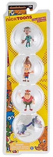 Sheen /& Goddard Nicktoons Carl Jimmy Neutron 2 Inch Deluxe Collector 4-Pack Figurine Set Jimmy