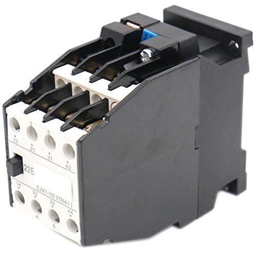 660 Coil - Baomain AC Contactor CJX1-12/22 3 Pole 2NO+2NC 660V 20A Coil 220V