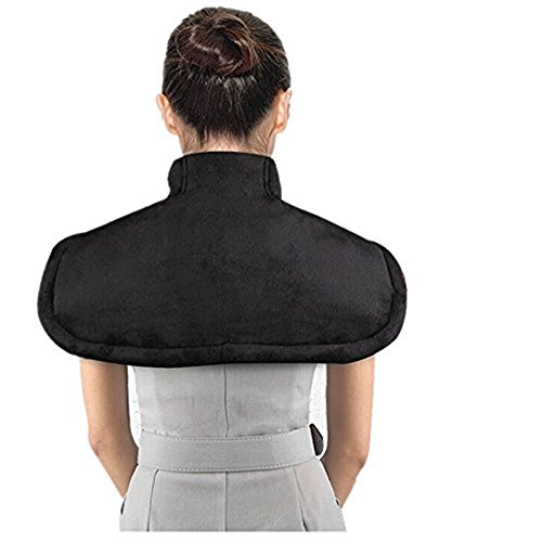 Heating Neck and Shoulder Massager Wrap Pad for Pain and ...