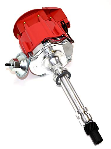 A-Team Performance HEI Distributor 65K Coil 7500 RPM Compatible with  Chevrolet Chevy GM GMC Small Block Big Block SBC BBC 262 265 267 283 302  305 307