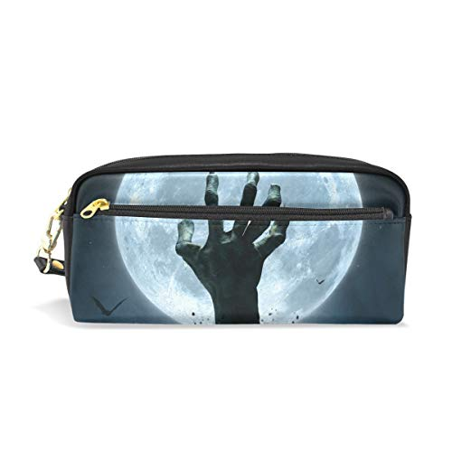 Top Carpenter Pencil Case Pouch Bag Halloween Zombie Hand for Makeup Office Student 7.9x2.4x3.5in