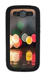 Cup Of Bokeh TPU Case Cover for Samsung Galaxy S3 Case and Cover - Black