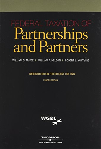 Federal Taxation of Partnerships and Partners