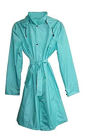 Envirotrend Fitted Raincoat Aqua S/M - Urban Splash