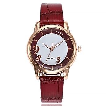 Reloj - LEEDY Quarzuhr - para - LEEDY Quarzuhr 0709: Amazon ...