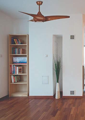 Sulion CORCEGA Ventilatore da soffitto con 3 pale luce led 18W 3 velocit/à con telecomando