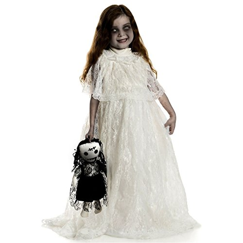 Halloween Costumes For Kids Scary.Gsg Creepy Doll Costume Kids Scary Halloween Fancy Dress