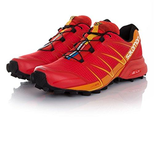 Black 372608 Bright Marigold Sportive Salomon da Red Scarpe 69 Fiery Uomo Rosso v8BqdUw