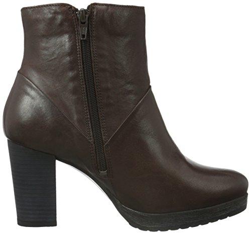 Bianco Platform Boot W/Zip Jja15, Zapatillas de Estar por Casa para Mujer Marrón - Braun (Brown/22)