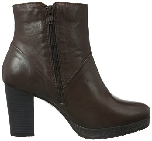 Jja15 W por de Zapatillas Mujer Marr Estar Zip Bianco para Boot Casa Platform qwIExBcSO