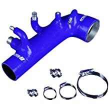 Upgr8 Subaru Impreza Forester High Performance 4-ply Turbo Inlet Intake Silicone Hose Kit (Blue)